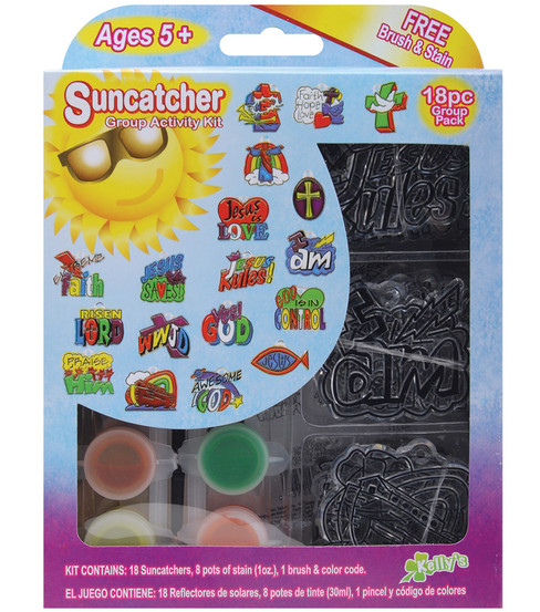 Kelly\u0027s Suncatcher Group Activity Kit-Religious