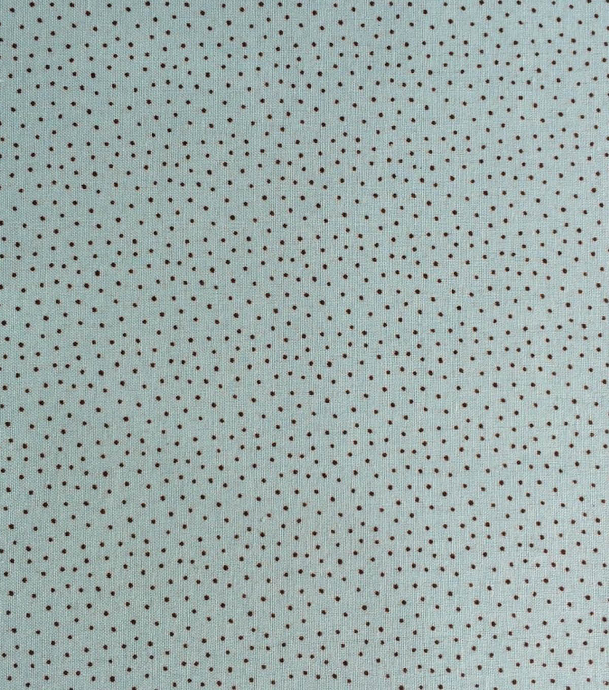"Keepsake Calico™ Cotton Fabric 43""-Blue Mini Dot"