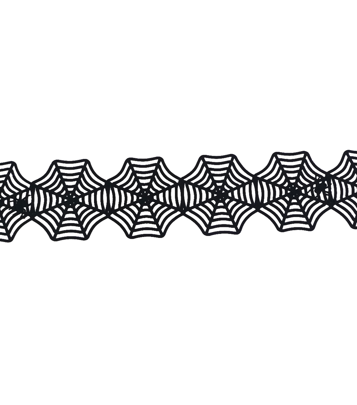 Maker's Halloween Table Runner-Spider Web