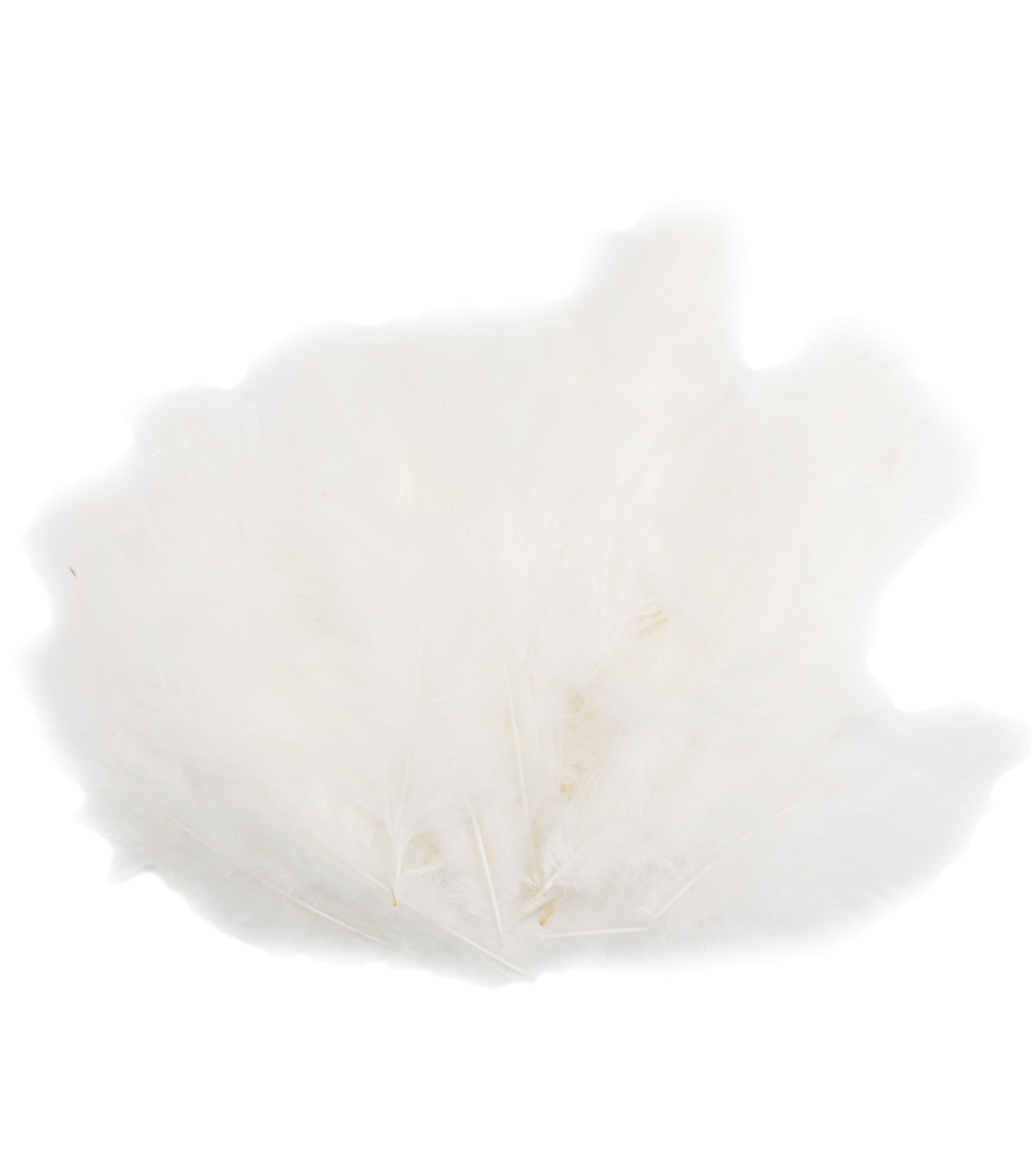 Midwest Design Flat Turkey Feathers 14 Grams-Eggshell