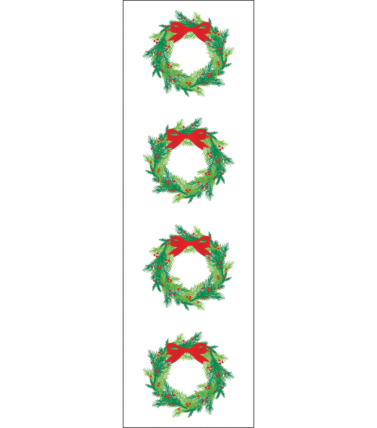 Mrs. Grossman\u0027s Stickers-Bright Wreath