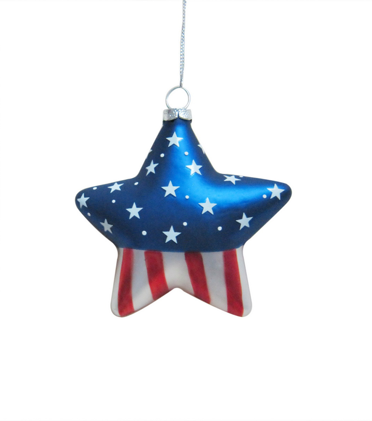 Maker\u0027s Holiday American Star Ornament