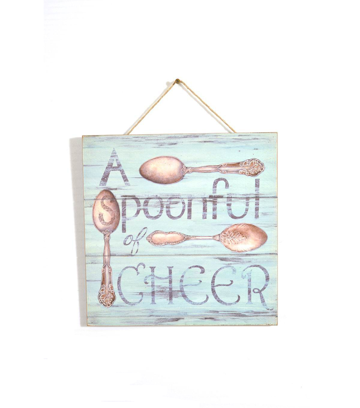 Susan Winget Wall Plaque-\u0022Spoonful Of Cheer\u0022