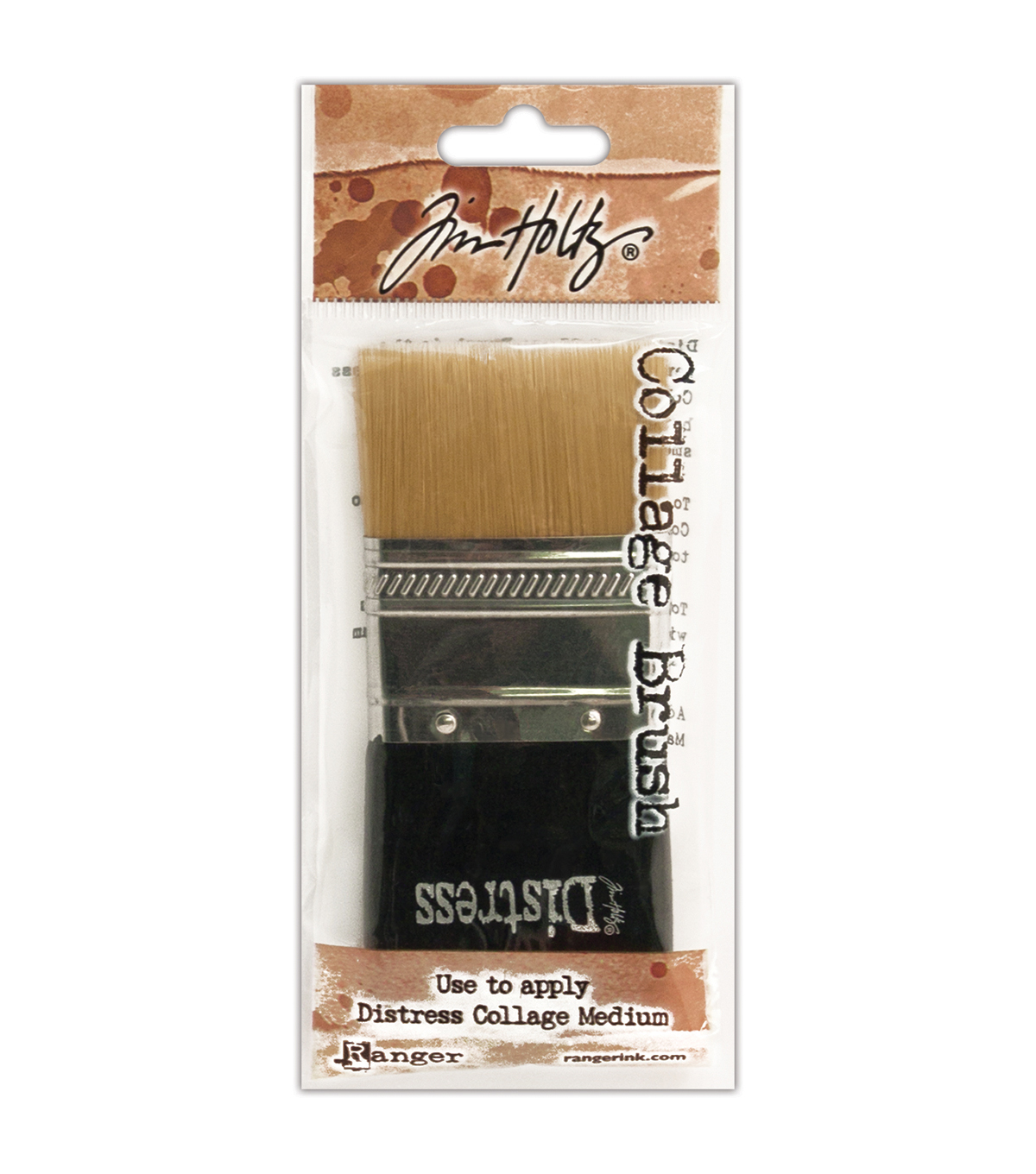 Tim Holtz Distress Collage Brush-1-3/4""