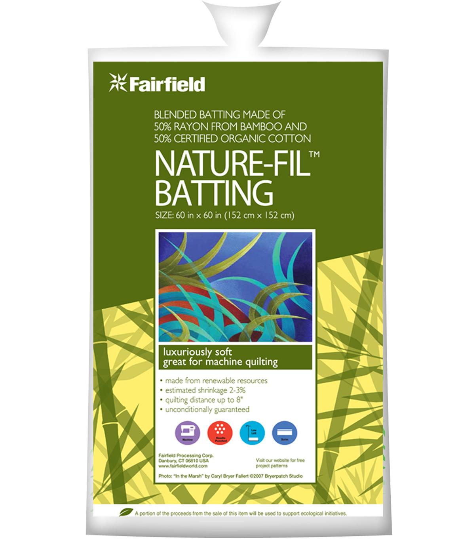 Nature-Fil™ Blend Quilt Batting,50% Organic Cotton/50% Rayon from ... : organic quilt batting - Adamdwight.com