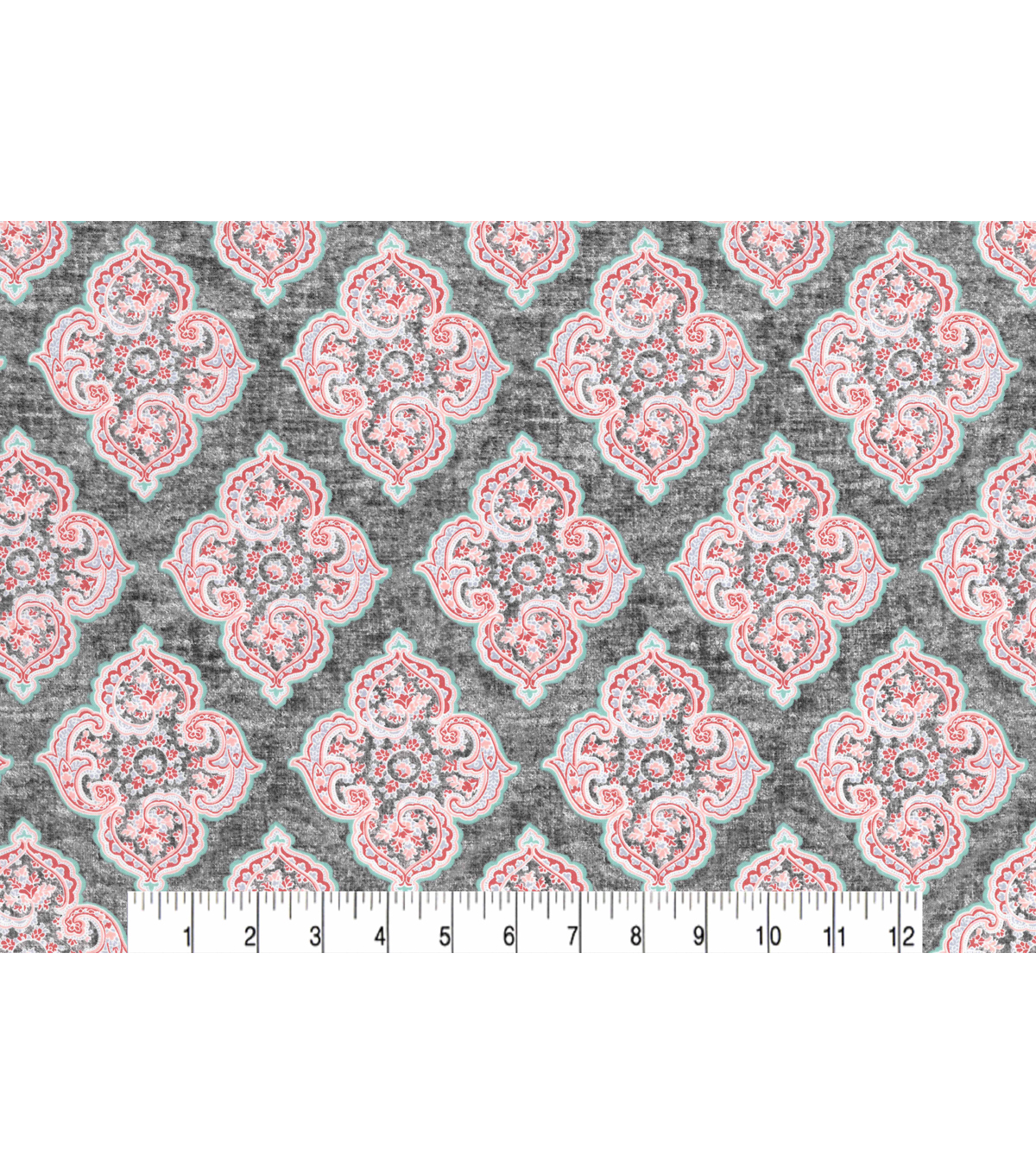 Two Daughters™ Cotton Fabric 43\u0022-Quartrefoil Tiles