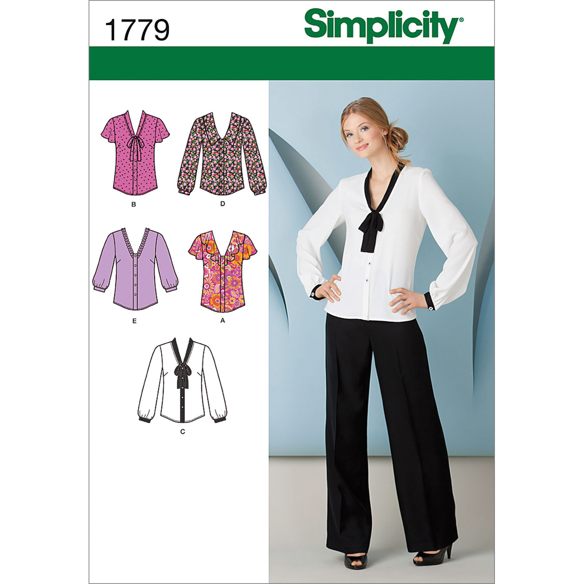 Simplicity Pattern 1779H5 6-8-10-12--Simplicity Pattern