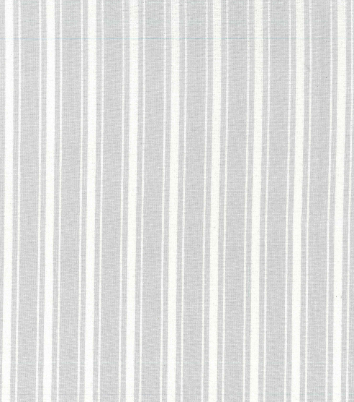 Nursery Cotton Fabric 43\u0027\u0027-Gray Stripe