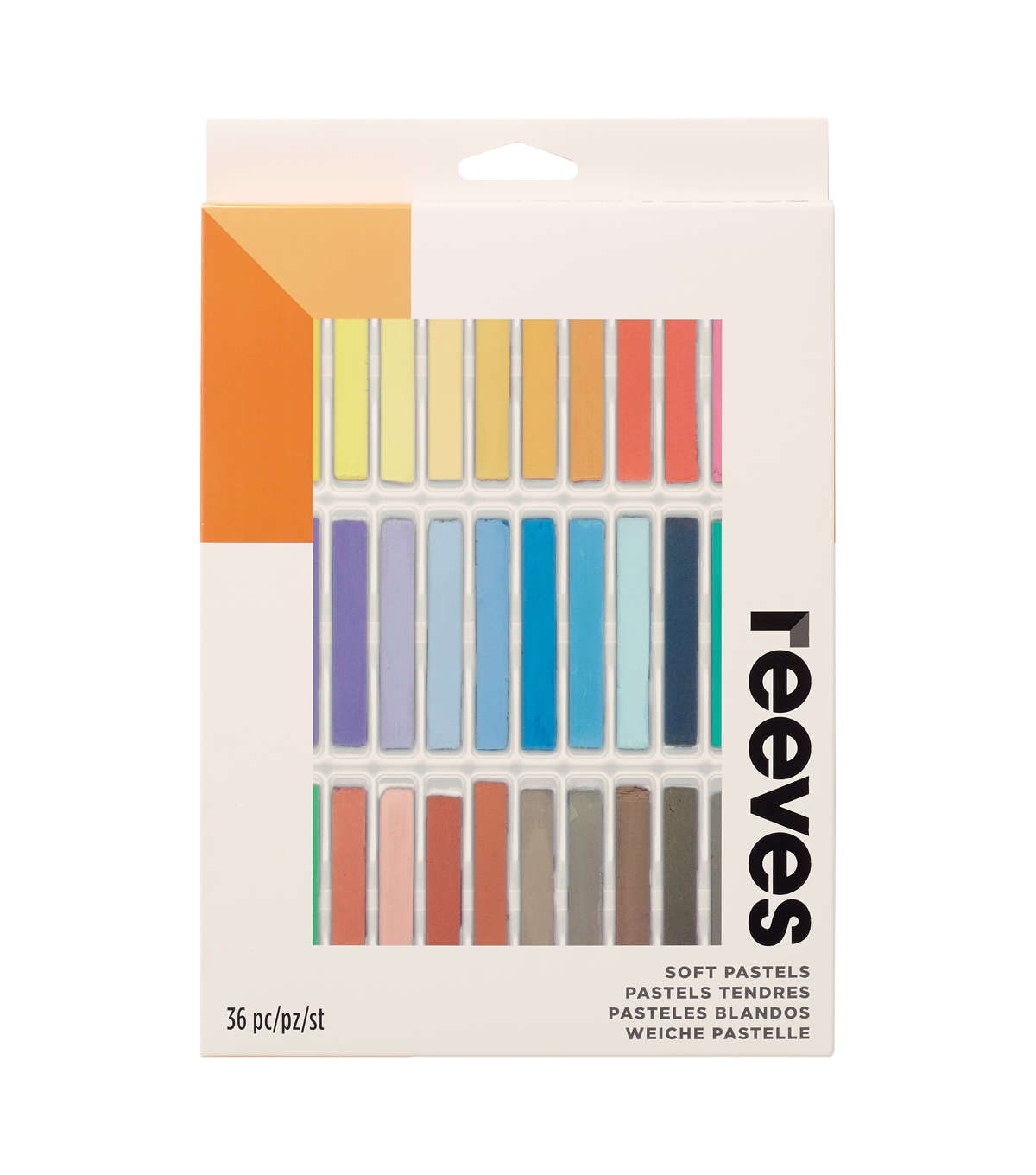 Reeves 36 Soft Pastels Set