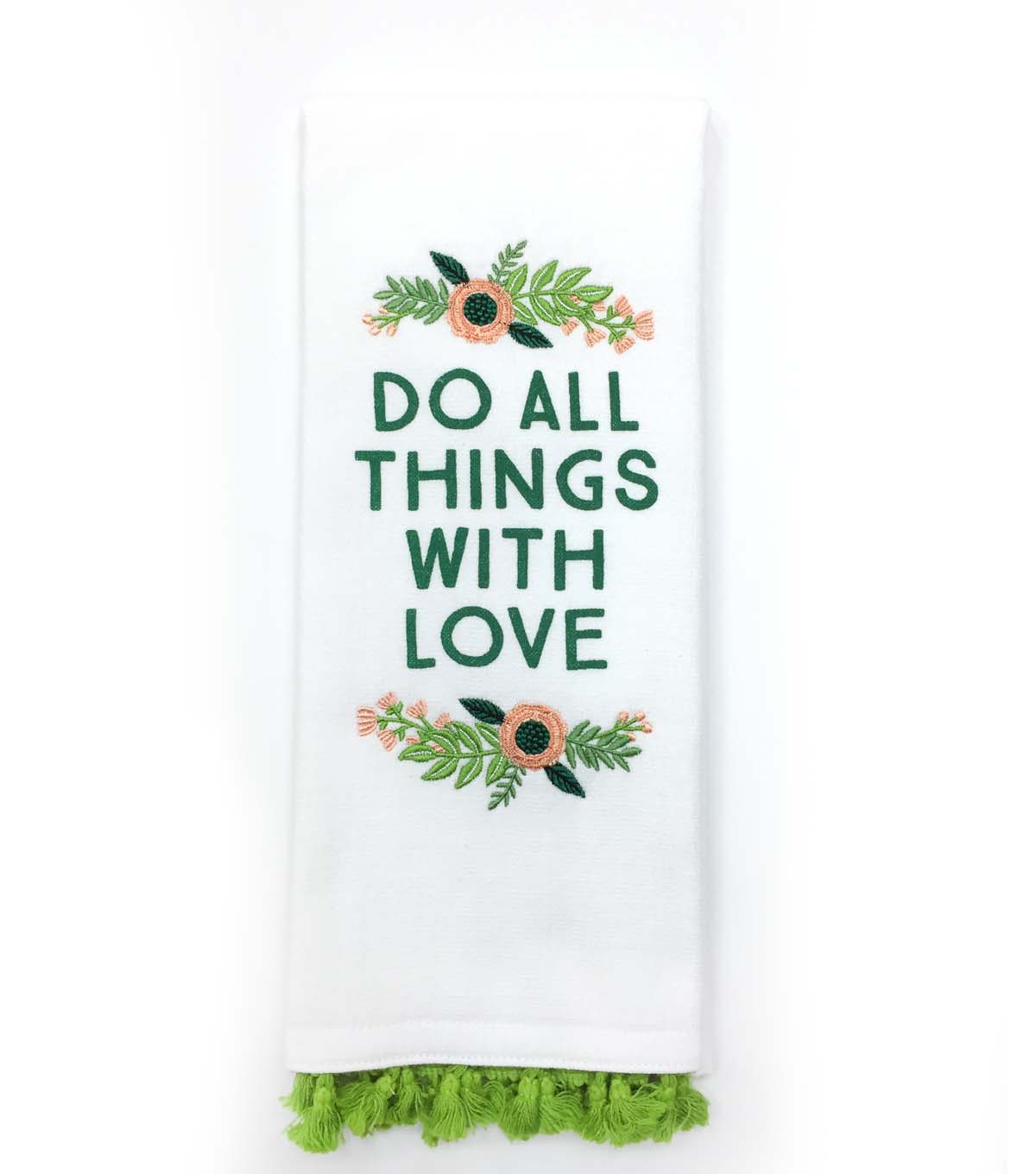 Hello Spring 16\u0027\u0027x28\u0027\u0027 French Terry Towel-Do All Things with Love