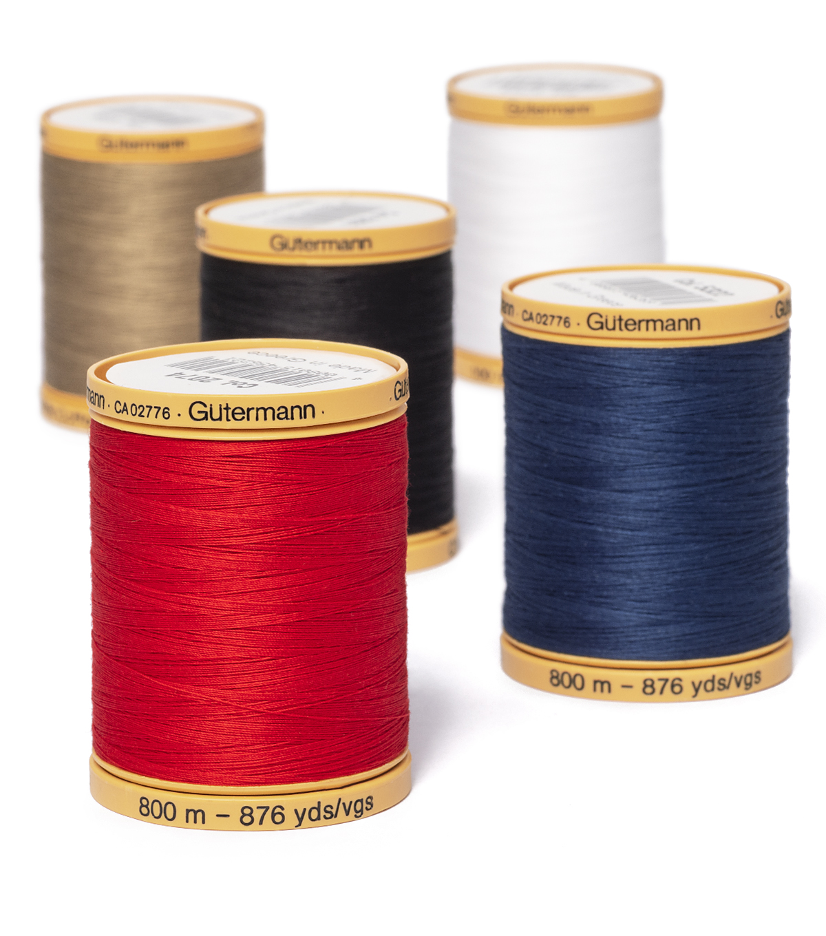 Gutermann Natural Cotton Thread Solids 876 yd