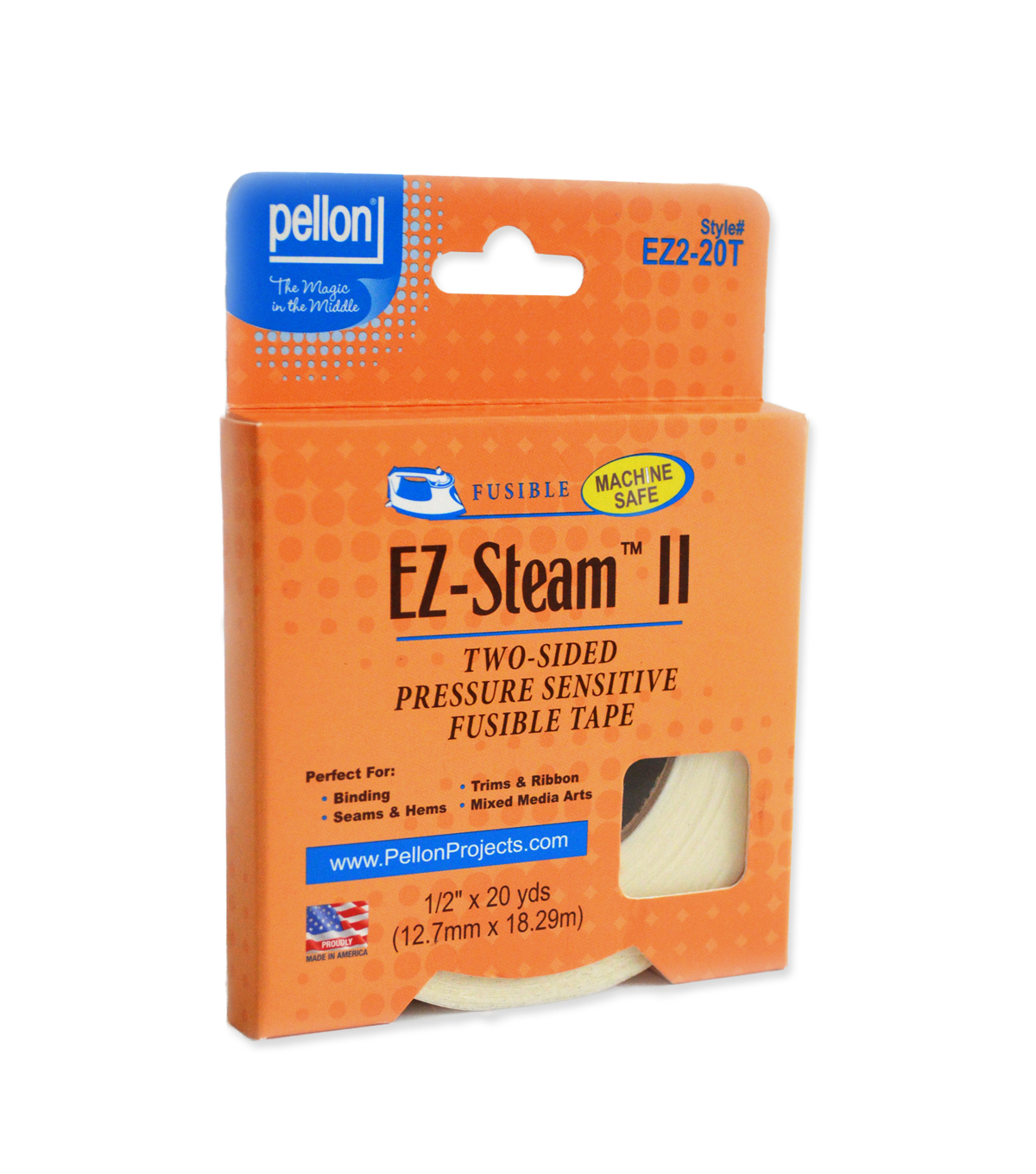 Ez Steam Ii Tape 1 2X20 Yds