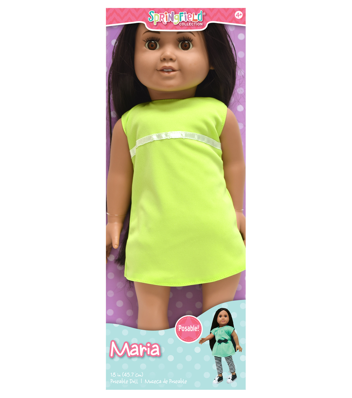 Springfield Collection Pre-Stuffed Doll 18\u0022-Maria