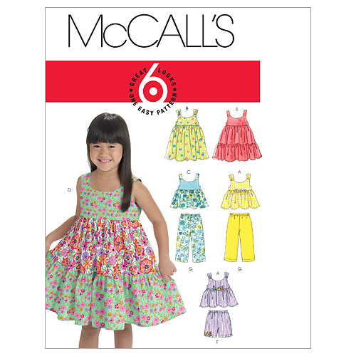 McCall\u0027s Children\u0027s Casual-M6017