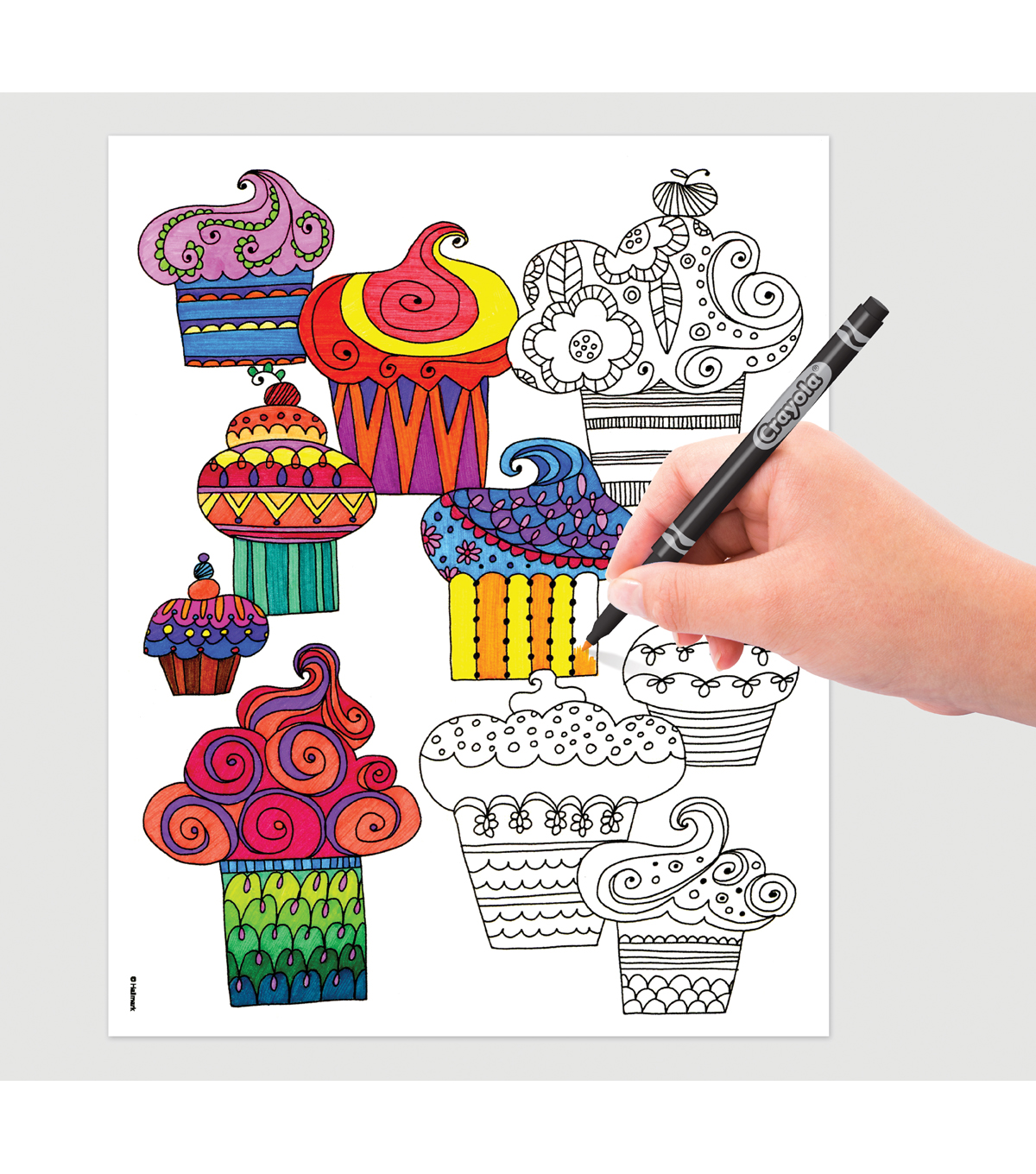 Crayola Whimsical Escapes Coloring Book