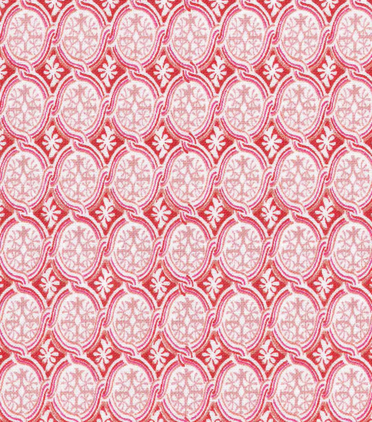 "Keepsake Calico™ Cotton Fabric 43""-Feminine Small Medallion"