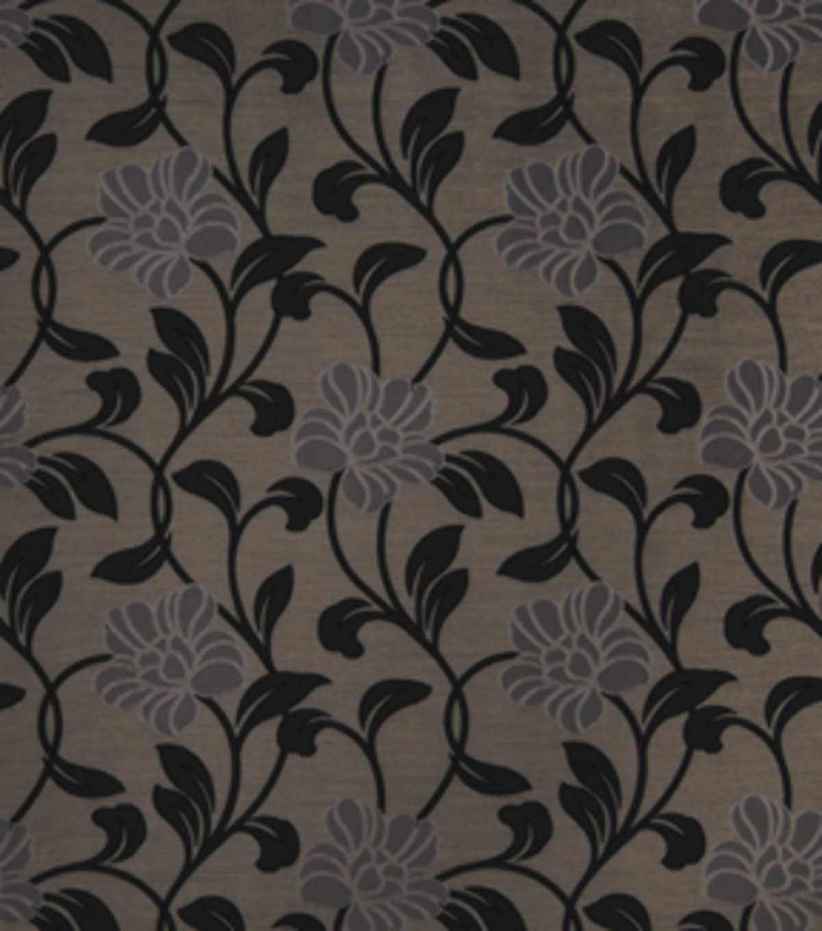 Home Decor 8\u0022x8\u0022 Fabric Swatch-Print Fabric Eaton Square Lloyd Silver