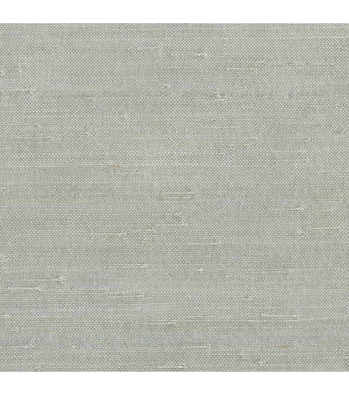 Jin Light Grey Grasscloth Wallpaper
