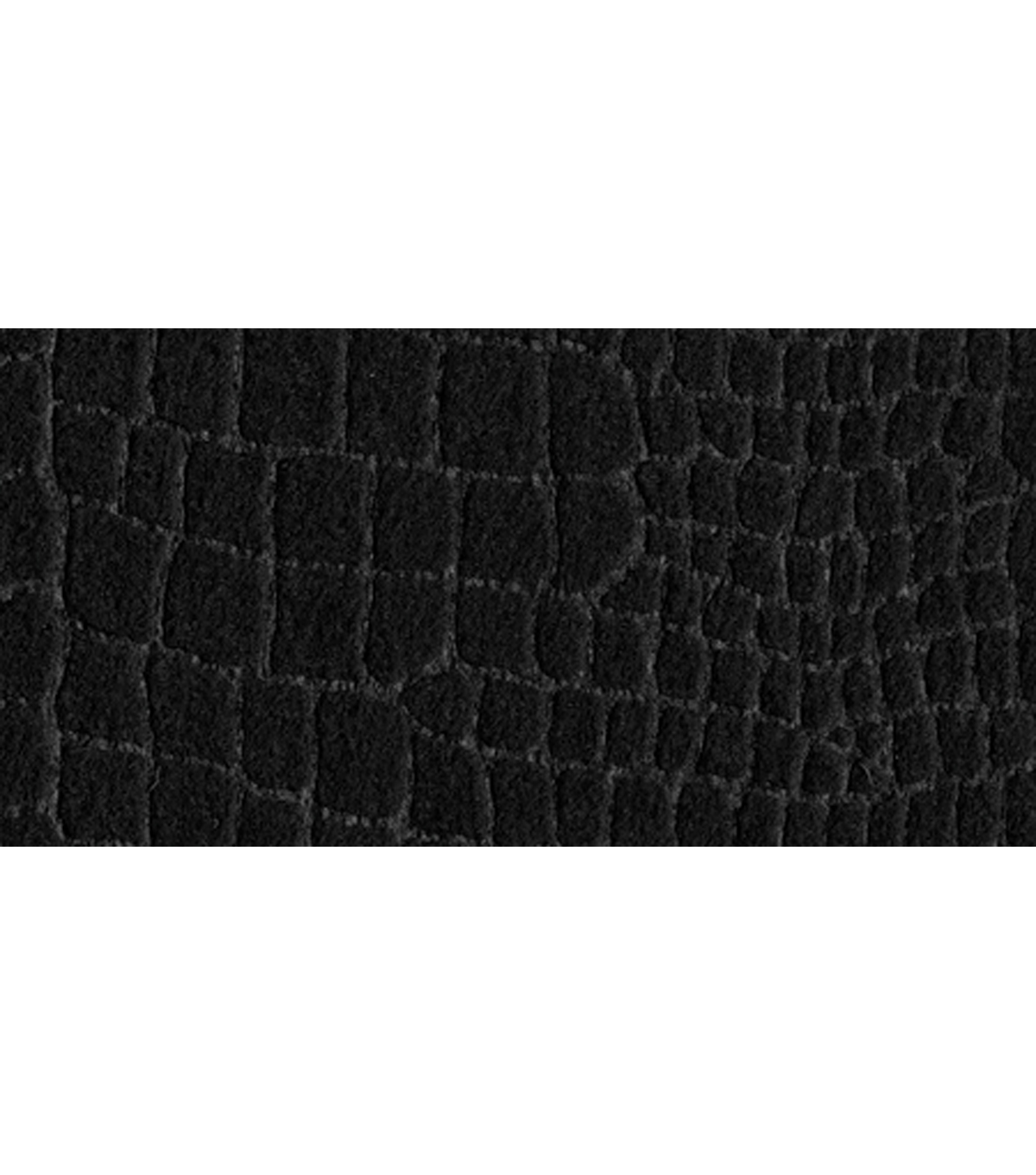 "Kunin/Foss-Alligator Embossed Felt 9""X12""-Black"