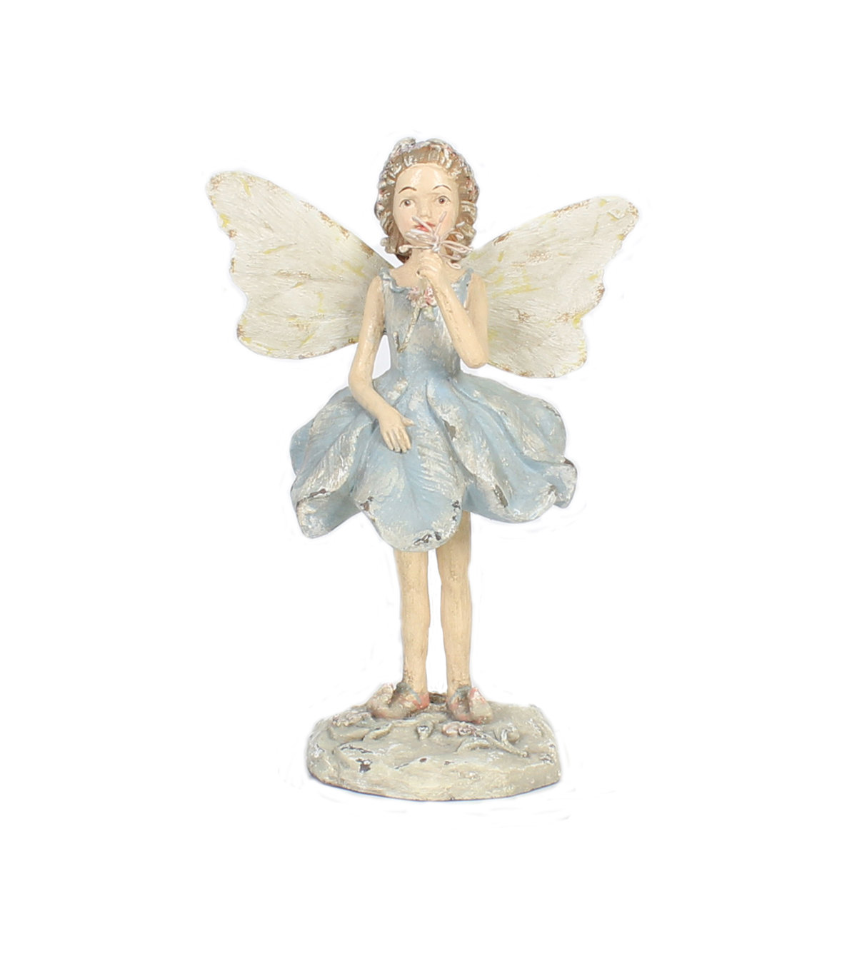 Hello Spring Gardening Fairy with Butterfly Statuary