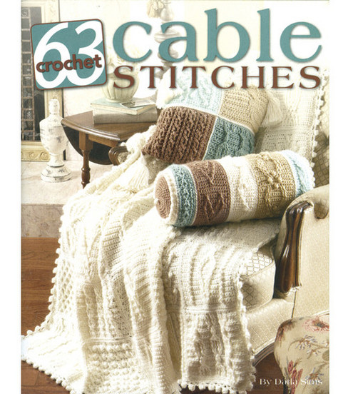 63 Cable Stitches Crochet Book