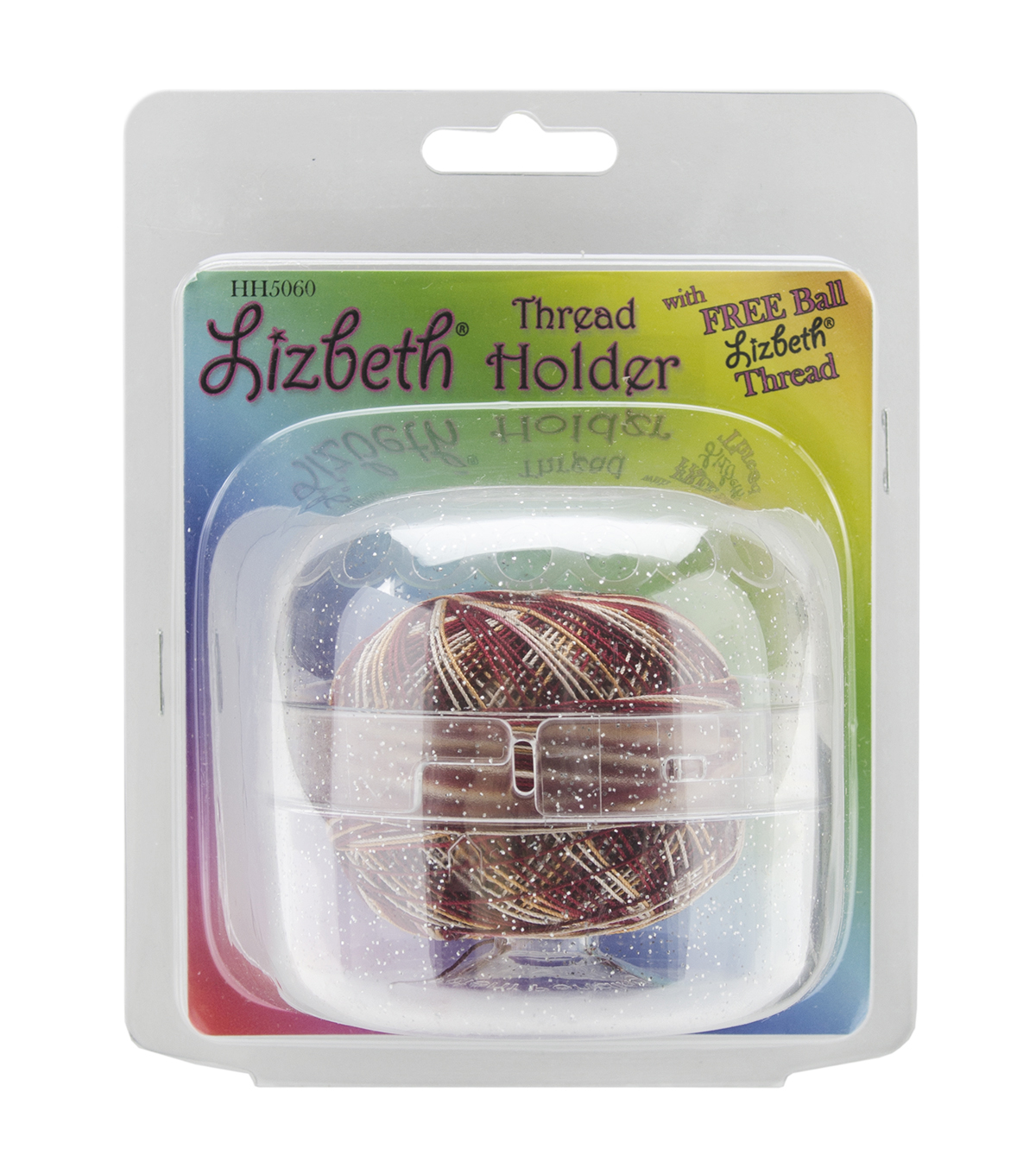 Lizbeth Thread Holder-Sparkle Clear