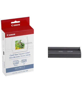 Canon KC-18IS Card Size Sticker