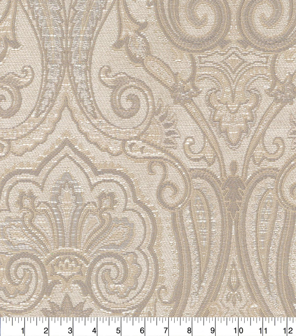 Waverly Upholstery Fabric 54''-Chai Clubroom Paisley