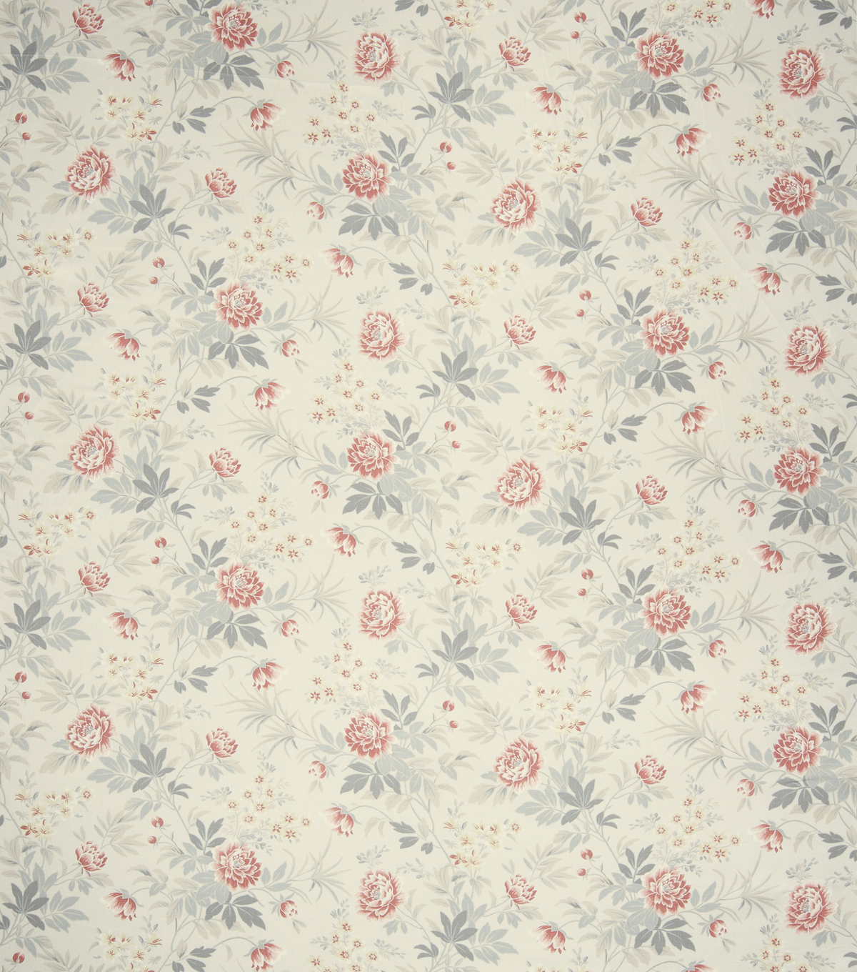 French General Print Fabric 54\u0022-Comedy/Rose