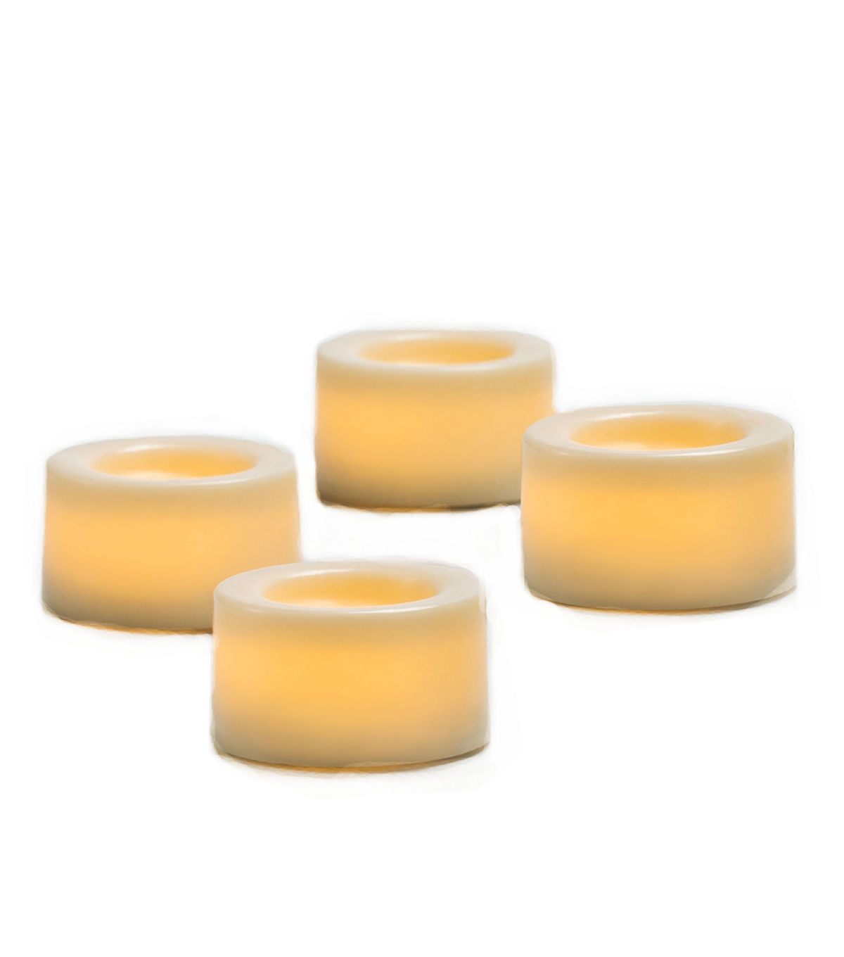 Hudson 43™ Candle&Light Collection 4 Pack Mini Votive Cream