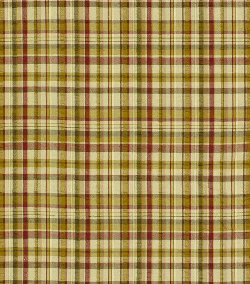"Home Decor 8""x8"" Fabric Swatch-Robert Allen Salt Pond Plaid Acorn Fabric"