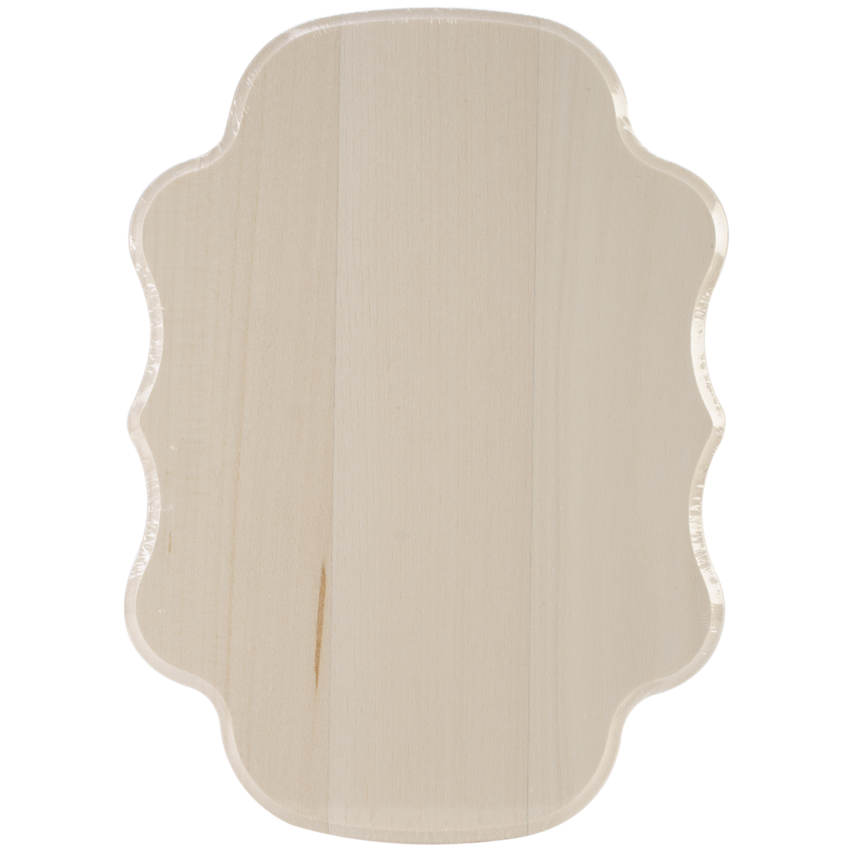 Basswood Thin Plaque 5\u0022X7\u0022-Monogram