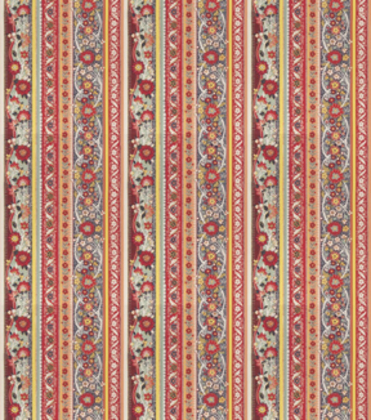 Home Decor 8\u0022x8\u0022 Fabric Swatch-Print Fabric Eaton Square Shield Bright Multi