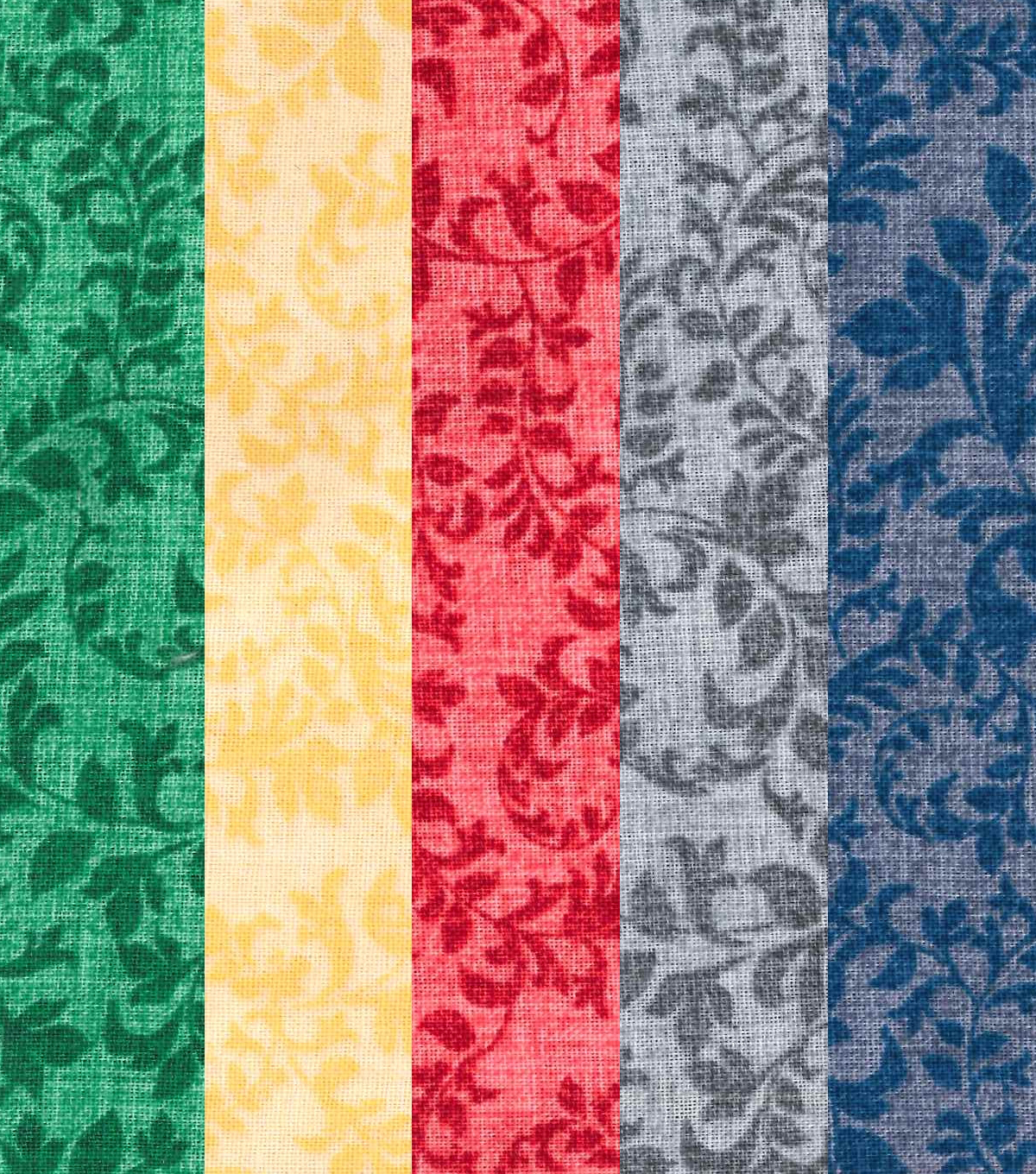 Jelly Roll Cotton Fabric 20 Strips 2.5\u0027\u0027-Assorted Paisley