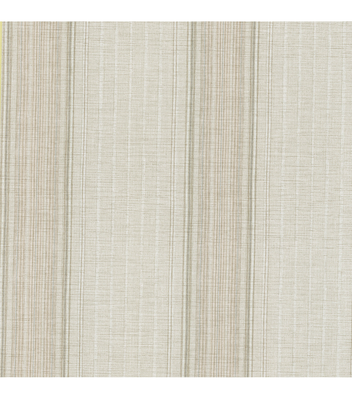 Natuche Mauve Linen Stripe Wallpaper Sample