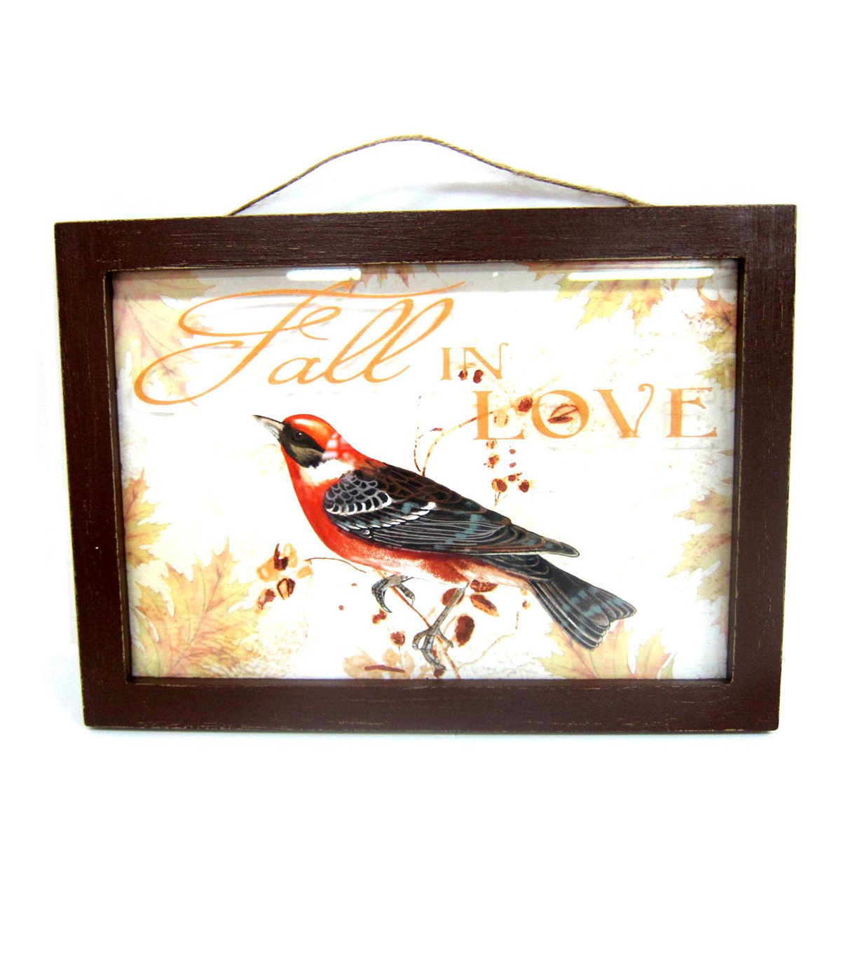 Art of Autumn Glass Wall Decor-Fall in Love