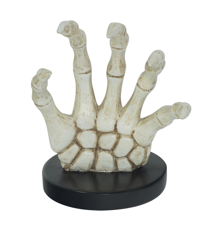 makers halloween skeleton hand hook