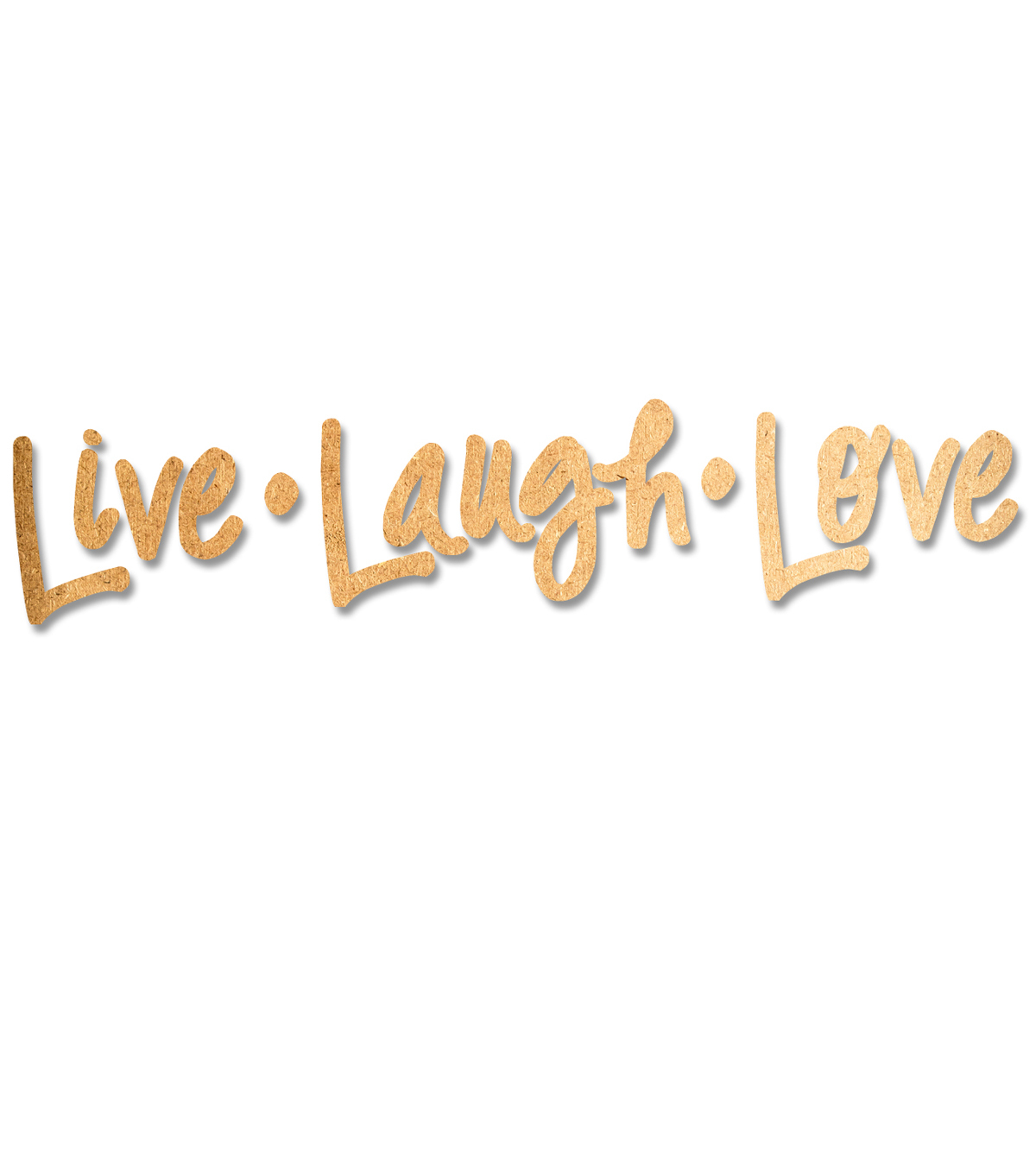 DCWV Wall Embellishments-Live Life Love Large Mdf