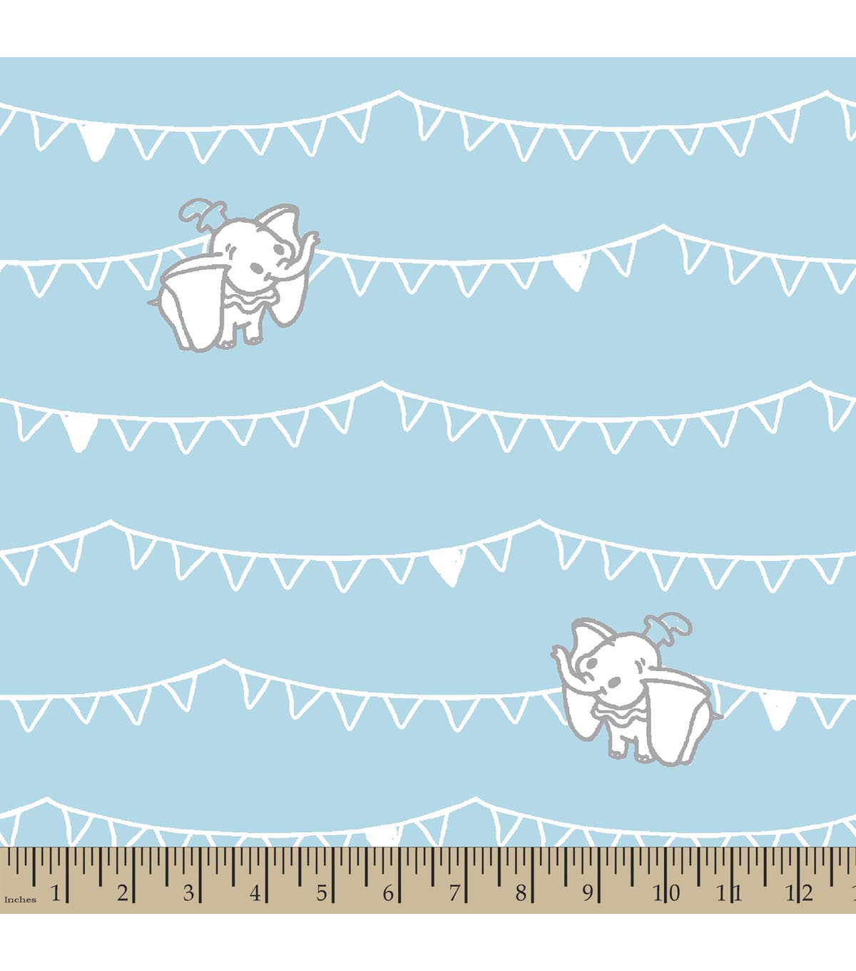 Disney® Dumbo Print Fabric-Flags