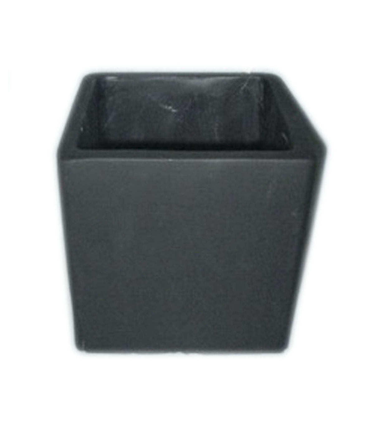 Bloom Room 6'' Cement Block Container-Black
