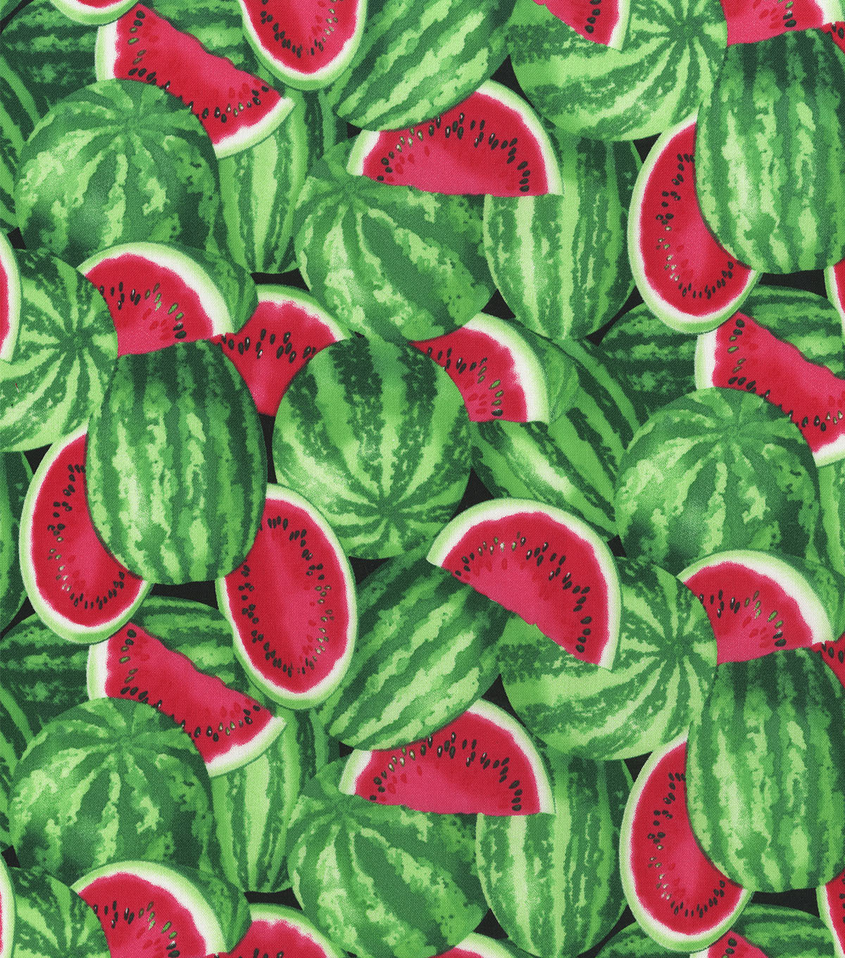 Novelty Cotton Fabric 44\u0027\u0027-Watermelons