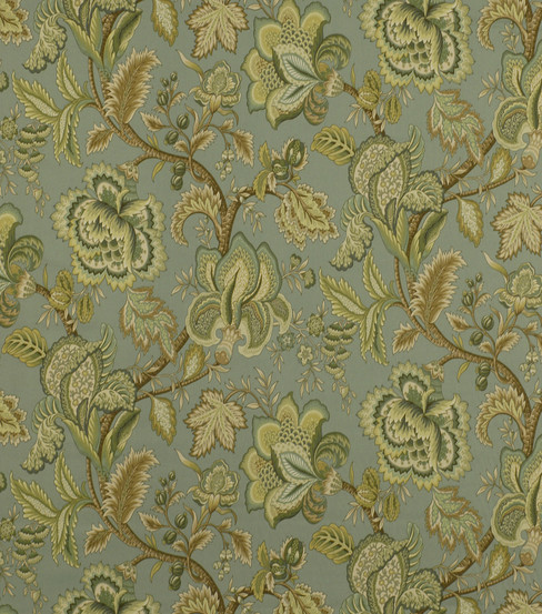 Home Decor 8\u0022x8\u0022 Fabric Swatch-Robert Allen Summerlin Seafoam Fabric