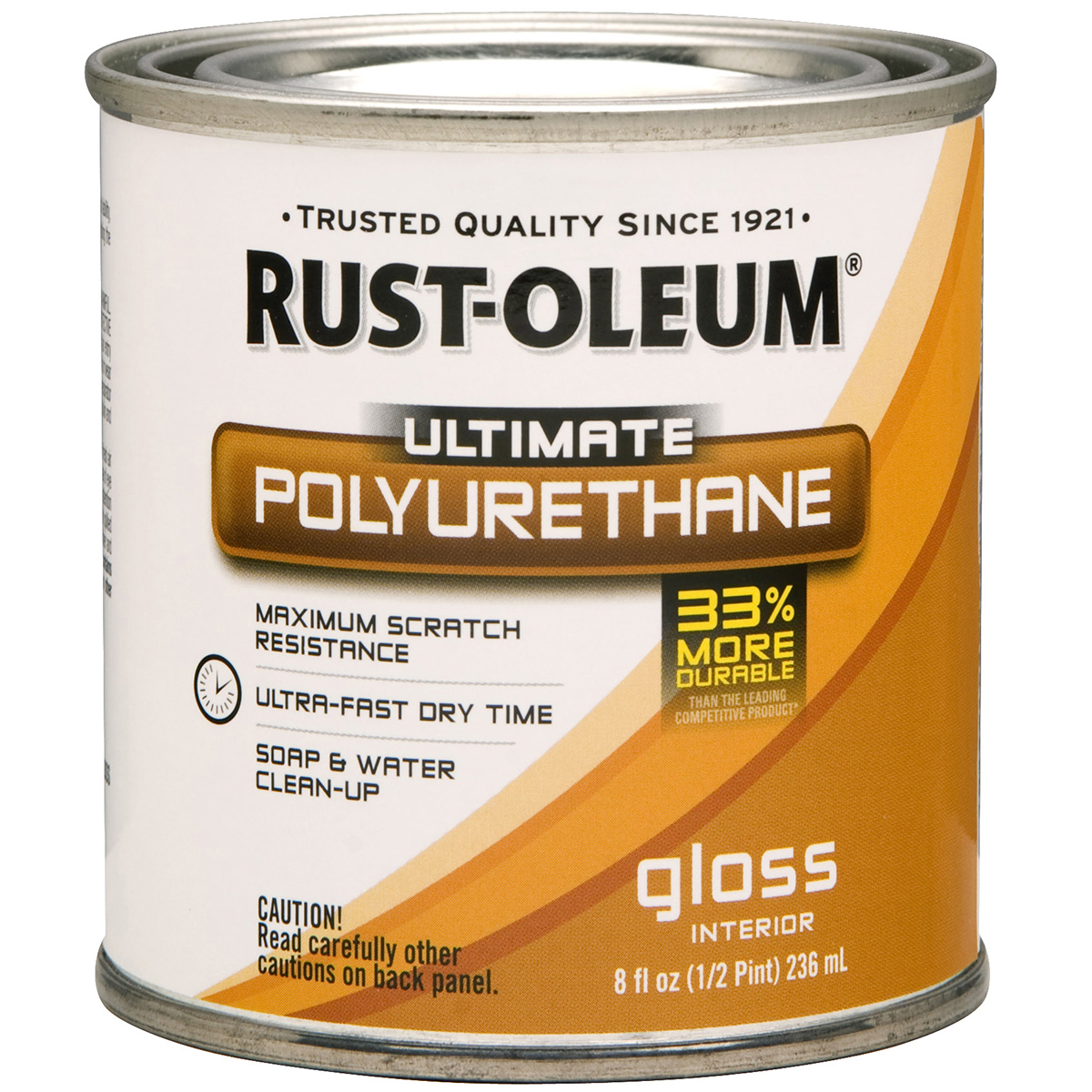 Rust-Oleum Ultimate Polyurethane Clear Gloss 8oz