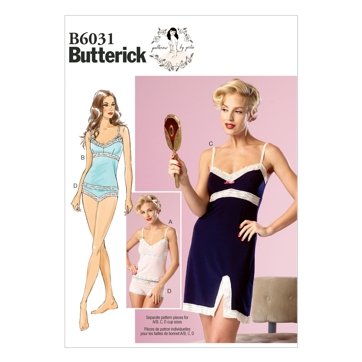 Butterick Misses Sleep & Lounge-B6031