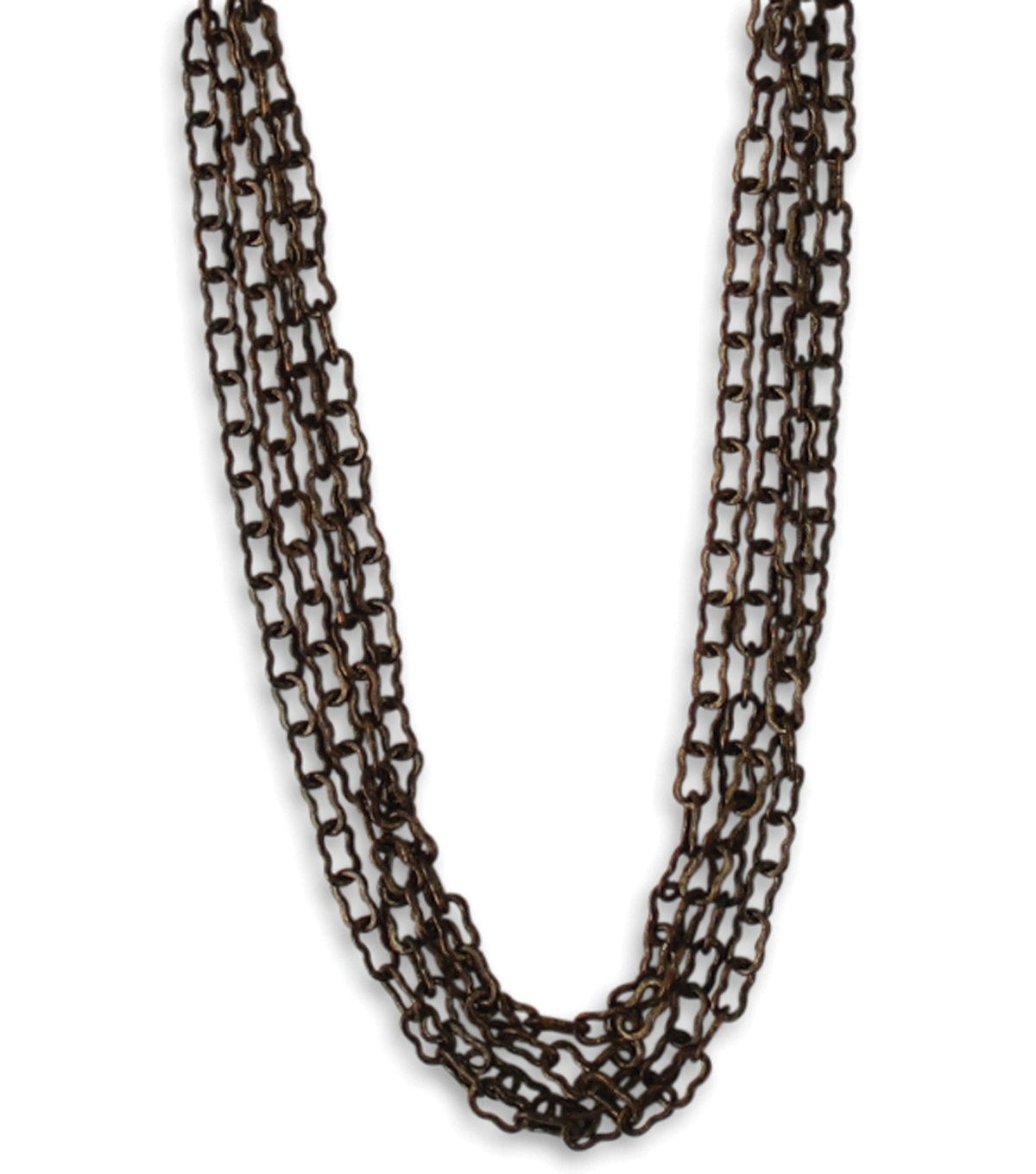 Vintaj Metal Chain 24\u0022-Fine Ornate 2x3.5mm