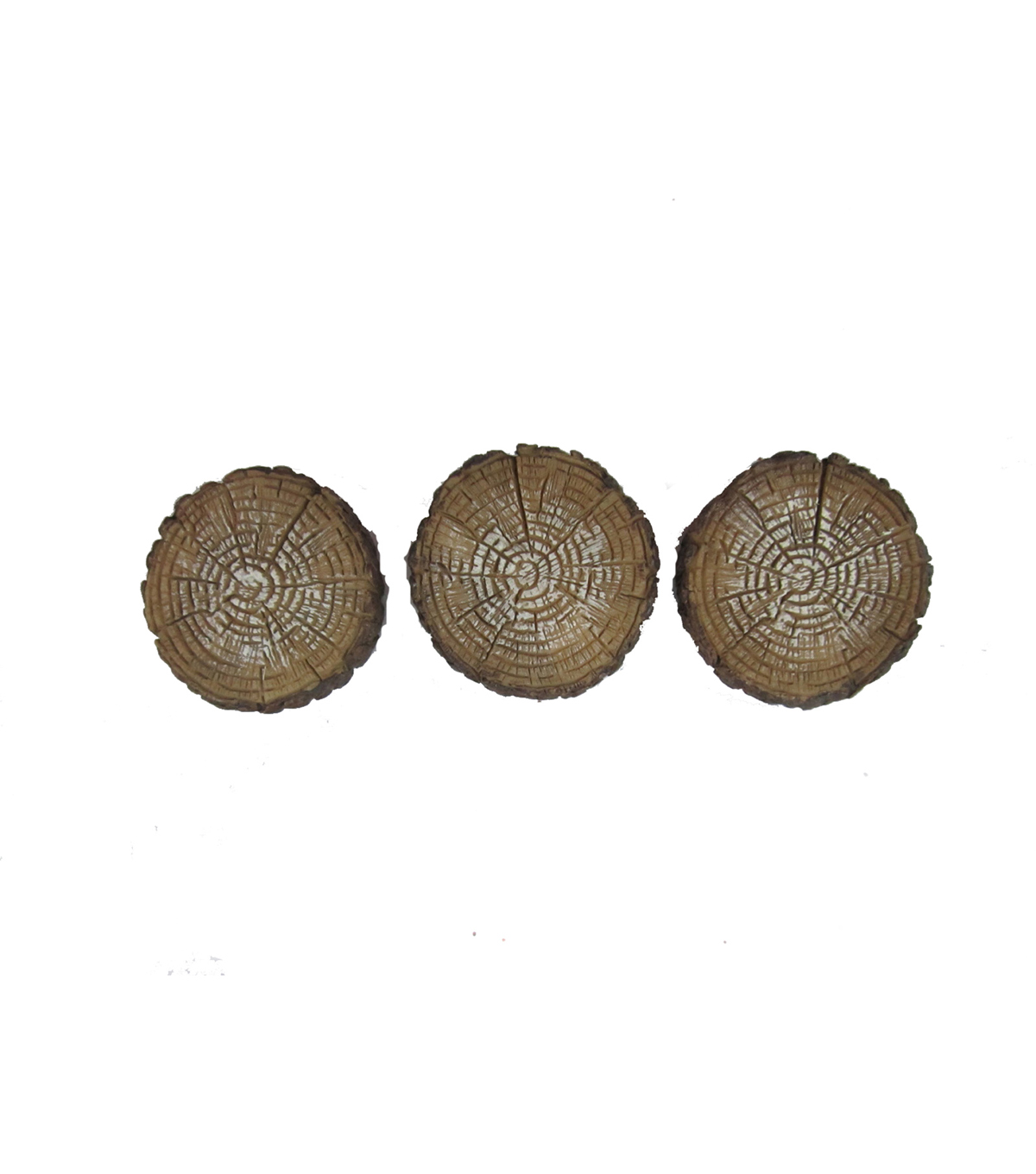 Bloom Room Littles Pack of 3 Log Stepping Stones