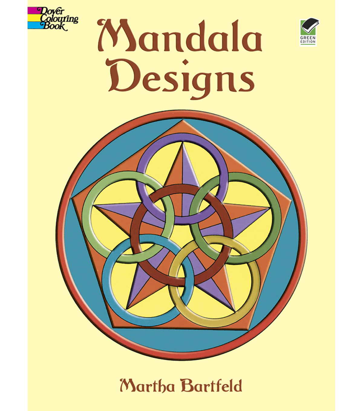 adult coloring book dover publication mandala designs - Dover Coloring Books