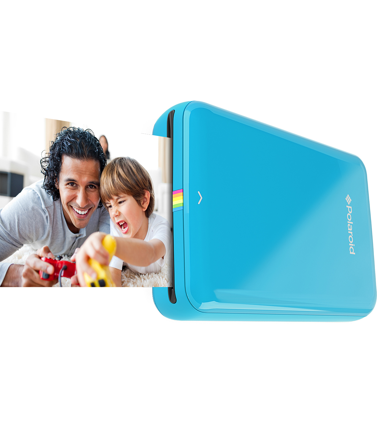 Polaroid Snap Zip Mobile Printer-Blue