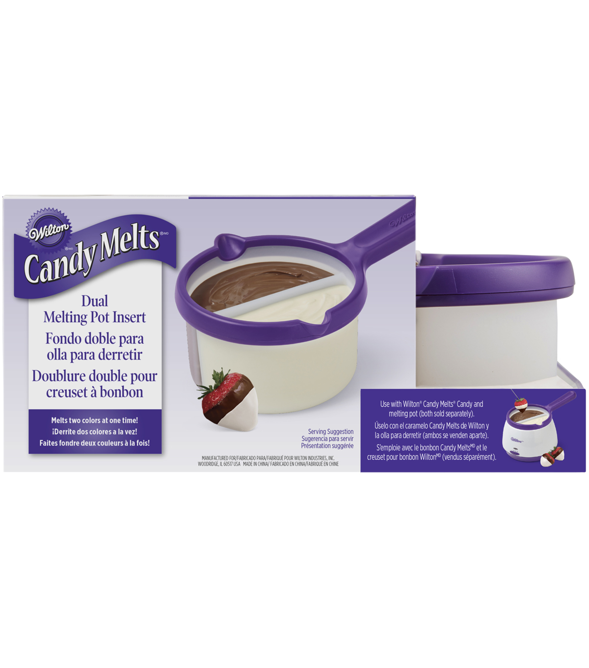 Wilton® Candy Melts Dual Melting Pot Insert