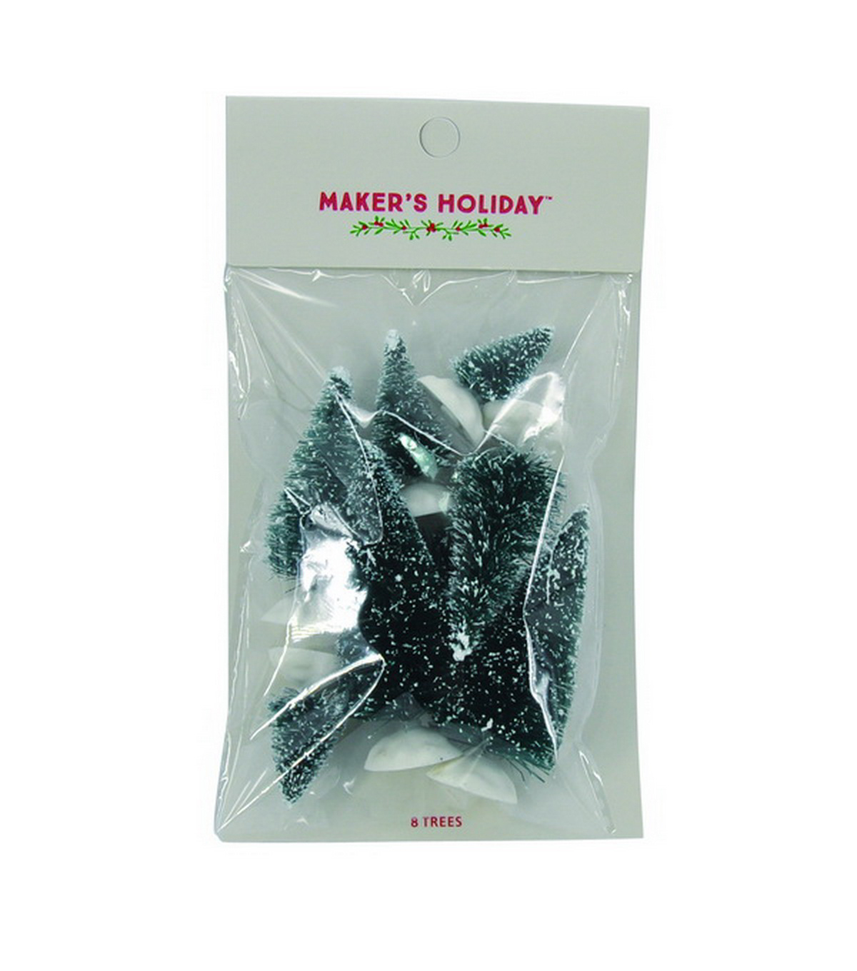 Maker\u0027s Holiday 8ct Spruce Sisal Trees-Blue